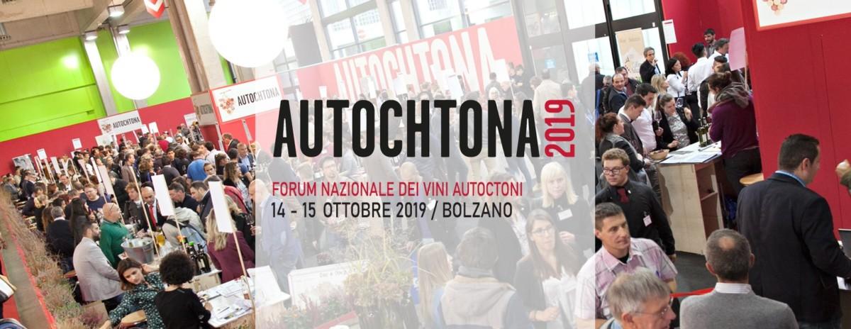 Autochtona – Forum Nazionale dei Vini Autoctoni – Fiera Bolzano 14 – 15 Ottobre 2019